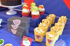 Superhero Guest Dessert Feature | Amy Atlas Events