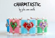 CHARMTASTIC Heart Bracelet Pattern   Bead-Patterns.com