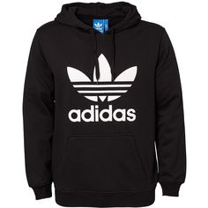Adidas Originals Adi Trefoil Hoo (399.050 COP) ❤ liked on Polyvore featuring men's fashion, men's clothing, men's sweaters, jumpers & cardigans, sports fashion, tops and mens-fashion