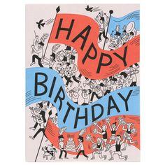 Happy Birthday Card by Tomi Um (Little Otsu)