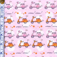 Now We're Goin Places By Monica Lee For Timeless Treasures Fabrics Color: White $5.98/y
