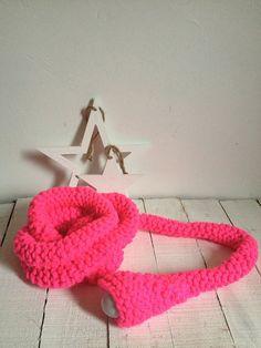 LUDD lamp Neon Pink / Mechant Studio
