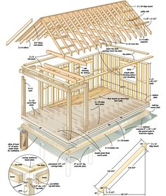 How does $4,000 sound like as budget for raising a home? Pdf building guide: https://stevemaxwell.ca/wp-content/uploads/2013/05/DIY-Cabin-Building-Plans.pdf Even if you imagine a small crammed place, the cabin you see here fits into that price range, from start to amazing finish. The basic A-frame old cabin is 14 feet by 20 feet and may seem like ordinary from the outside, the inside can be spacious and brightly attractive.