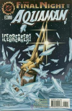 AQUAMAN dc comic book cover