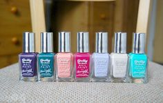 Barry M Gelly Nail Polishes