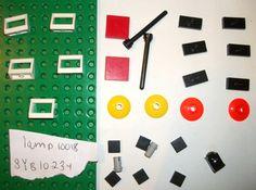 > > > $22.50 < < < LEGO DARTH MAUL BUST 10018 Aerial Whip 3794 3957 3070 3068 4740 2432 30063 dish #LEGO