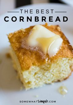 The best cornbread that is also the easiest recipe you'll ever try - let's make it!