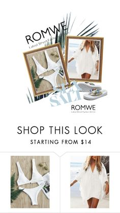"""""""ROMWE"""" by hallo12 ❤ liked on Polyvore"""