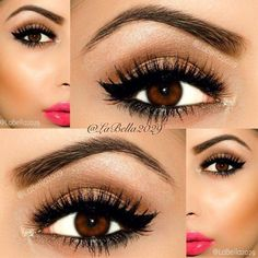 Great eye makeup for brown eyes