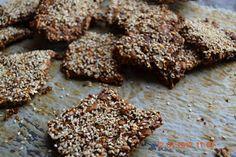 Glutenfri matblogg   Knekkebrød med goji