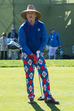 """outside-in-photo: """"Bill Murray at the 2016 AT&T Pebble Beach Pro-Am representing a team that hasn't given him the satisfaction of a World Series victory for the 65 years of his life. Pebble Beach Pro Am, Famous Catholics, Cub Sport, What About Bob, Cubs Win, Bald Man, Bill Murray, My Kind Of Town, Pub Crawl"""