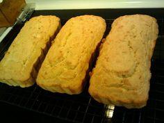 HCG P3 Recipes: P3 Coconut Flour Bread