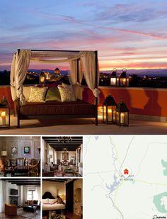 L'hotel è situato nel cuore di San Miguel de Allende, a pochi isolati dalla maestosa chiesa Parroquia de San Miguel Arcángel e a 7 minuti di cammino dal centro. Le vie di ciottoli e le case in stile coloniale della città sono la cornice ideale per una vacanza speciale. Il complesso dista pochi passi da ristoranti tradizionali e negozi di artigianato. Querétaro dista 45 minuti d'auto. Gli aeroporti più vicini sono Querétaro (55 minuti) e León (un'ora e mezza).