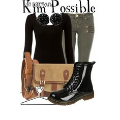 """Kim Possible"" by lalakay on Polyvore"
