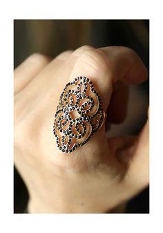Δαχτυλίδι Black Flower, 11,00€. Silver Rings, Women's Fashion, Flowers, Accessories, Black, Jewelry, Fashion Women, Jewlery, Bijoux