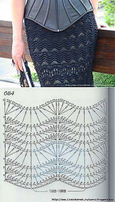 Fabulous Crochet a Little Black Crochet Dress Ideas. Georgeous Crochet a Little Black Crochet Dress Ideas. Crochet Skirt Outfit, Crochet Summer Dresses, Crochet Skirts, Crochet Clothes, Dress Skirt, Crochet Diagram, Crochet Motif, Crochet Shawl, Crochet Lace