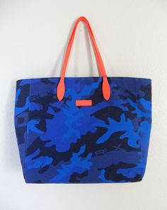 NWT POLO GOLF RALPH LAUREN PURSE Blue Camo HANDBAG Fabric/Leather TOTE BAG $198 | Clothing, Shoes & Accessories, Women's Handbags & Bags, Handbags & Purses | eBay!