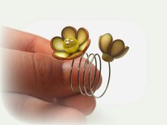 ring for challenge Fimo Ring, Polymer Clay Ring, Polymer Clay Animals, Polymer Clay Projects, Plastic Jewelry, Resin Jewelry, Jewelry Crafts, Diy Bracelets And Earrings, Clay Extruder