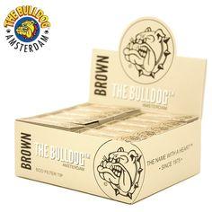 Boîte de Filtre Brown The Bulldog en carton