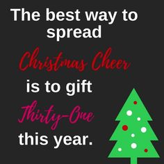 the holidays with gifts from Thirty-One.Celebrate the holidays with gifts from Thirty-One.