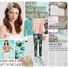 Pretty Pastels of Spring, created by kayjcouture on Polyvore
