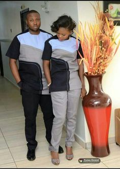 The most classic collection of beautiful traditional and ankara styles and designs for couples. These ankara styles collections are meant for beautiful African ankara couples Couples African Outfits, Latest African Fashion Dresses, African Dresses For Women, African Print Fashion, Africa Fashion, Couple Outfits, Ankara Fashion, African Prints, African Fabric