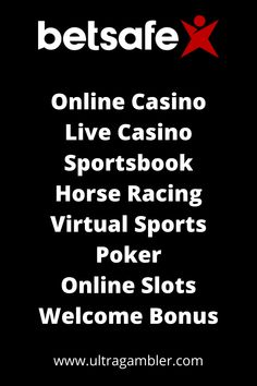 Betsafe Casino is the ultimate online casino featuring an amazing first deposit bonus, fantastic slots, superb table games and an incredible live casino. Top Casino, Live Casino, Top Online Casinos, Casino Reviews, Casino Games, Table Games, Horse Racing, Slot, The Incredibles