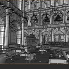 Environment Modeling on The Order: 1886 Environment Texture by: Alberto Rodriguez