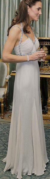 Kate Middleton, The Duchess of Cambridge in Amanda Wakeley