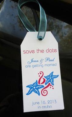 save the date destination Weddings template