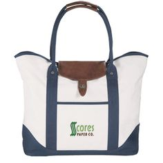 Test the promotional waters with this lovely travel bag!