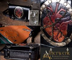 Just finished another few steampunk/victorian Belt-Bags. Available direct from me (send me a pm) or on Etsy Belt Bags are currently sold out. Other stuff: en.dawanda.com/shop/Aetherwerk