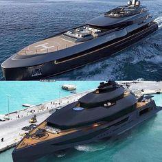 Futuristic Cars, Futuristic Vehicles, Lux Yachts, Chanel Iphone Case, Luxury Rv, Black Love Art, Cool Boats, Boat Stuff, Yacht Design