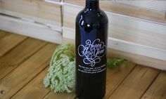 New Year's Wine gift Great for Secret Santa, Holiday decorations, and Christmas gifts!