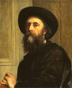 Self-Portrait - George Frederick Watts - 1864