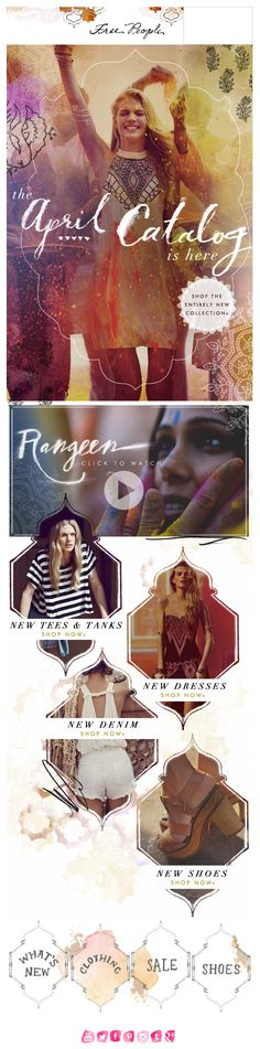 Free People - Launch + Category