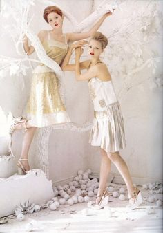 maidens of the heavenly peachgrove of the western paradise ••• tim walker | Tumblr