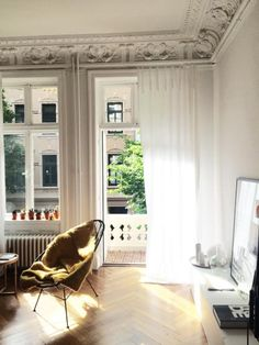 Moderner Stuck schönes office space mit weichem licht moderner le und schönem