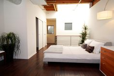 Spacious white in small space