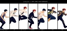 Hobie 's evolution FanArt -  Credit all to: pukeychu in tumblr