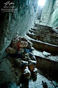 Abandoned Atlanta School - Creepy Doll Left Behind | Flickr - Photo Sharing!