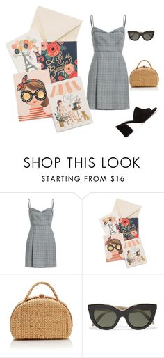 """""""lady"""" by kety-de-jesus on Polyvore featuring moda, Rifle Paper Co, Victoria Beckham e Maryam Nassir Zadeh"""
