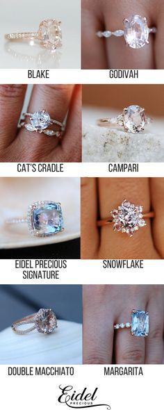 Modern Sapphire Engagement Ring Set Rose Gold Engagement Rings Leaf Sapphire Ring with Matching Band - Fine Jewelry Ideas Rose Gold Engagement, Engagement Ring Settings, Engagement Rings, Ring Armband, Jewelry Rings, Fine Jewelry, Jewelry Ideas, Jewlery, Mode Glamour