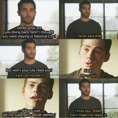 Awesome. Just some Sterek. Just some Superman Au