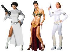 Princess Leia costumes