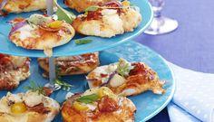 Minipizza med norsk torsk