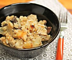 1960s Slow Cooker Chicken and Rice Casserole | AllFreeSlowCookerRecipes.com