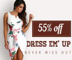 ChicMe WW Free Advertising, Wrap Dress, Summer Dresses, Blog, Fashion, Moda, Fashion Styles, Wrap Around Dress, Fasion
