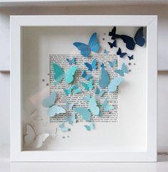 Kelebekler ile dekorasyon