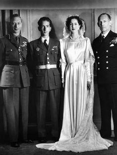Princess Alexandra of Greece + Denmark & King Peter II of Yugoslavia :: March 20, 1944